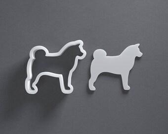 Shiba Inu dog cookie cutter
