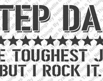 Step Dad SVG