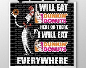 Dr Seuss-Dunkin Donuts SVG