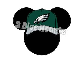 Philadelphia Eagles Mickey Head svg studio dxf pdf jpg png