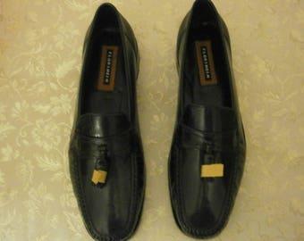 Mens Florsheim Black Dress Shoe Size 10 D