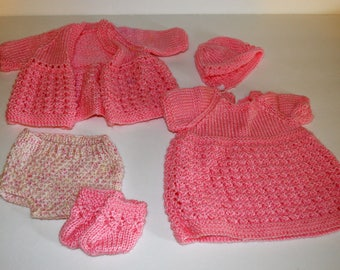 Hand Crocheted Doll Clothes