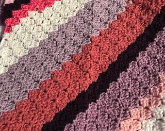 Colorful toddler nap blanket