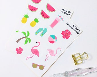 Summer Beach Sticker