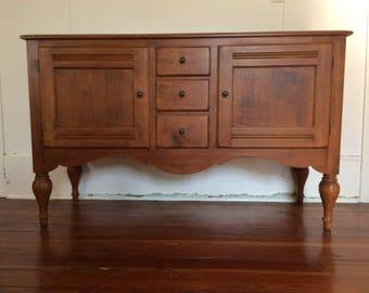Vintage Ethan Allen Wood Sideboard