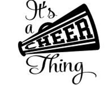 Its a Cheer Thing SVG