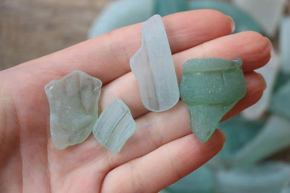 aqua sea glass aqua blue bottle necks sea glass wedding