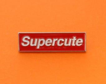 Supercute Enamel Pin