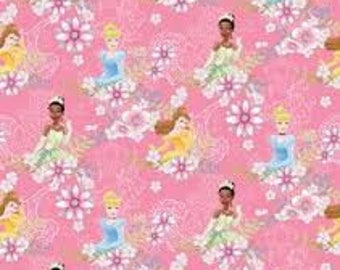 "Princess Trio pink flower by Springs Industries, 43-44"" wide, 100% cotton"