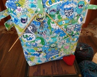Topsy Turvy Monster Bag