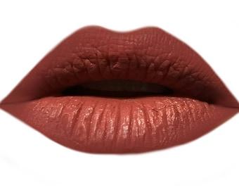 Lilac / Mauve Vegan Matte Lipstick - Natural, Organic - Bowie