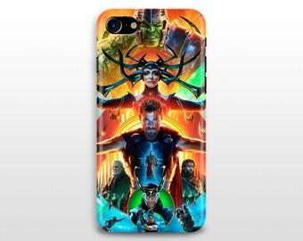 Thor Ragnarok iPhone 8 case iPhone X case iPhone iPhone 6 plus iPhone 5 SE Samsung Galaxy S7 S8 movie poster chris hemsworth cate blanchett