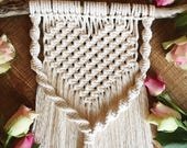 Macrame wall hanging, macrame, nursery, wedding, wall hanging, wall decor, wall art, rope hanging, bohemian, boho, wall mural, UK, Love