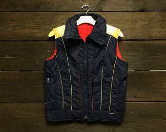 Vintage 70s Puffer Vest