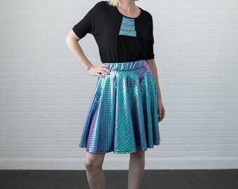Mermaid Skirt, Full circle, Elastic waistband