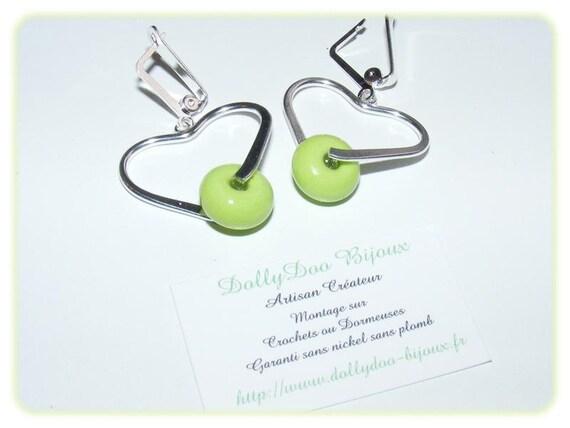 Designer earrings [GreenAlmond]