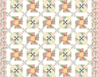 Meadow PDF Quilt Pattern by Mountain Rose Designs