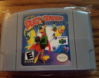 Looney Tunes Duck Dodgers Starring Daffy Duck N64 Custom English Nintendo 64