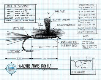 Technical Engineering Adams Dry Fly