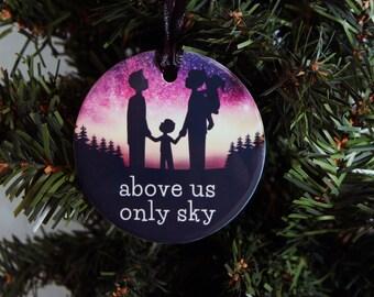 Atheist Aurora Borealis Ornament