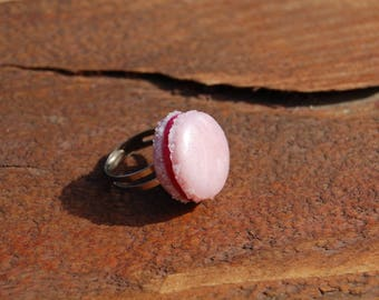 ring original badge, adjustable, pink