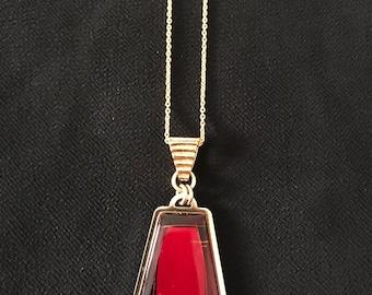 24K Pendant Necklace