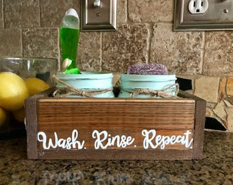 Rustic Kitchen Decor   Farmhouse Kitchen Decor   Farmhouse Decor   Rustic  Mason Jar Decor
