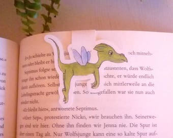 Magnetic Bookmark Tired Dragon