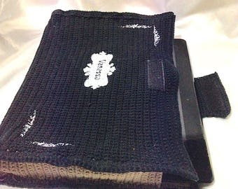 Cotton crocheted Tablet case
