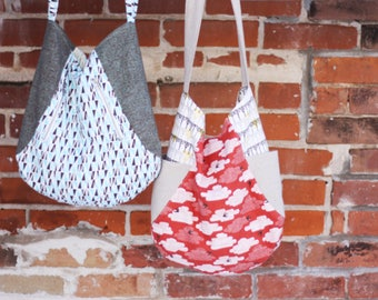 241 Tote Bag Pattern by Noodlehead