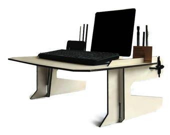laser cut wood bed desklaptop deskwood tablet standlaptop lap desk