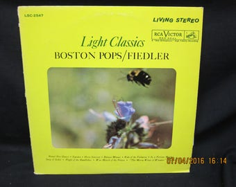 Arthur Fiedler Boston Pops Light Classics - RCA Victor