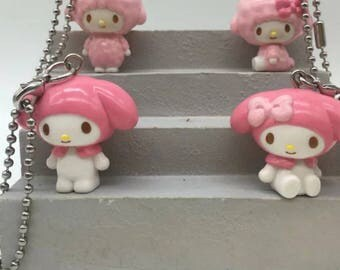 2x my melody & 2x piano figurines