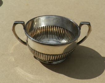 Sugar Basin - Silver Plated/EPBM - James Dixon & Sons - Vintage Silverplate
