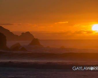 Pacifica Rocks - Pacific Ocean California Coast - Fine Art Print - 8x10 11x16, Landscape Photograph