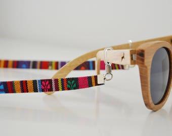 MEXICANO shadeloops // eyeglass chain, eyeglass holder, eyeglass leash, eyeglass holder, glasses chain, brillenkette, sunnycords