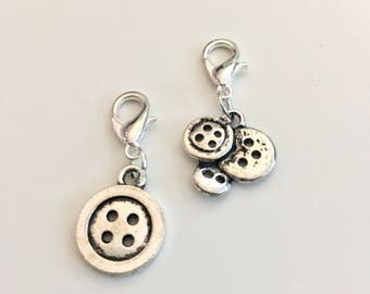 Button stitch markers or progress keepers (set if 2)