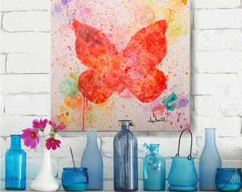 Painting, Wall Art, Butterfly, Original artwork, Interior Decoration, Decor, Item #Explosion