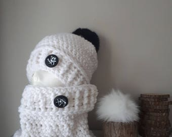 Interchangeable tassel Knitting kit