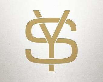 Interlocking Logo Design - SY YS - Interlocking Logo - Digital