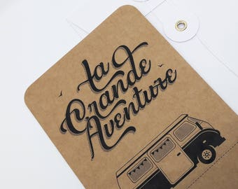 The great adventure - van kraft card