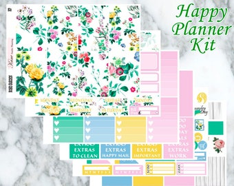 Rose Garden // Weekly Kit - Happy Planner