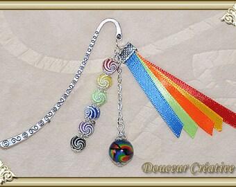 Multicolored bookmark Pearl 305017