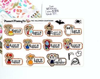 Halloween Countdown - FULL SIZED