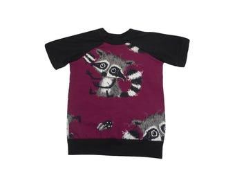 Sweater cute raccoons