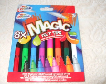 Lot 8 magical effect markers surprising (coloring)