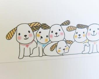 Regular envelope / Pups A