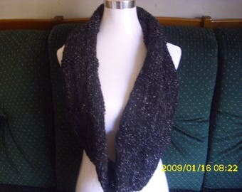double knit wool scarf hand-made for adult
