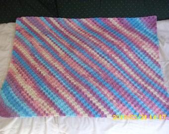 Baby blanket for bassinet or pram 69 X 49 cm