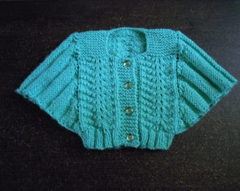 Butterfly sleeve jacket size 12 months